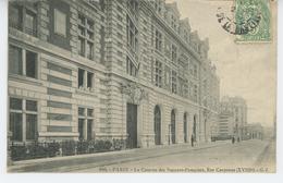 PARIS - XVIIIème Arrondissement - La Caserne Des Sapeurs Pompiers , Rue Carpeaux - Distretto: 18