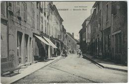 Saone Et Loire : Cuisery, Grande Rue - Francia