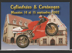 FRANCE CYLINRÉES ET CARÉNAGES Y,T,N°3512 +3517 - Moto