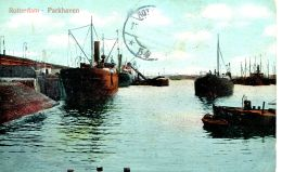 N°29804 -cpa Rotterdam -Parkhaven- - Commerce