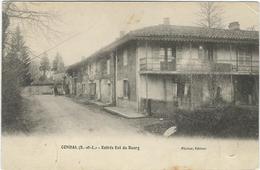 Saone Et Loire : Condal, Entrée Est Du Bourg - Francia