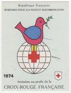 Carnet Croix Rouge 1974