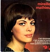 """Disque 45 Tours MIREILLE MATHIEU """"c'est Dommage"""" """"c'est Un Peu La France"""" Etc... (BARCLAY 71468M) - Vinyl-Schallplatten"""