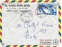 Benin 1977 Porto Novo Skiing Innsbruck Olmpic Games Cover - Benin – Dahomey (1960-...)