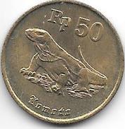 *indonesia 50 Rupiah 1994 Km 52  Unc - Indonesia
