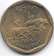 *indonesia 100 Rupiah 1991 Km 53  Unc - Indonesia