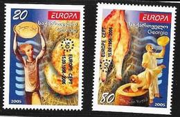 N° 379 /380   EUROPA  GEORGIE  -  NEUF  -  2005 - Géorgie