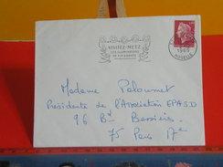 Marcophilie > Lettre > Flamme > 57 Moselle > Metz > Visitez Metz Ses Illuminations De Fin D'année - 1969 - - Marcophilie (Lettres)