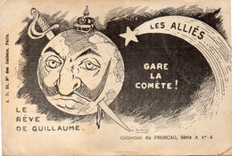 Le Reve De Guillaume - Gare La Comète - Les Alliés - Illustration Humoristique - Pub Phoscao   (93830) - Personnages