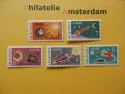 Albania 1963, SPACE RUIMTEVAART ESPACE: Mi 779-83, ** - Ruimtevaart