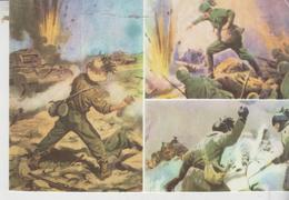Militari Reggimenti Bersaglieri Museo Storico Fronti Di Guerra Albania Grecia Africa  No Vg - Reggimenti