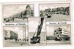 Aandenken Uit Koksijde, Souvenir De Coxyde (pk32150) - Koksijde