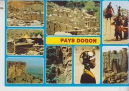Republique Du Mali Afrika Africa View Dogon  No Vg - Mali