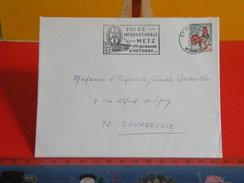 Marcophilie > Lettre > Flamme > 57 Moselle > Metz > Foire Internationale De Metz - 1967 - - Marcophilie (Lettres)