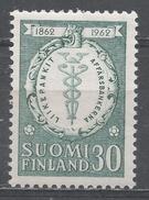 Finland 1962, Scott #394 Staff Of Mercury (MNH)