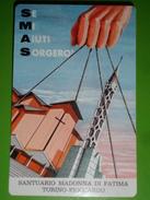 Calendarietto Anno1965 - Santuario Madonna Di FATIMA - TORINO FIOCCARDO Padri Somaschi - Ed.cellograf - Simp - Milano - Calendari