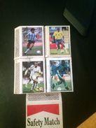 Algerie-(4)-étiquettes Boites D'allumettes -(Maradonna,Rivaldo,Ronaldo,) - Boites D'allumettes