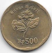 *indonesia 500 Rupiah 1992 Km 54  Unc - Indonesia