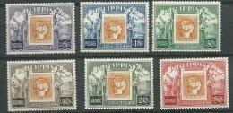 Philippines    - Yvert  417 / 419 + Aérien  47 à 49 6 Valeurs ** ( Cote 25,50 Euros )   Cw 14204 - Philippines