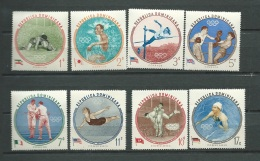 REPUBLIQUE DOMINICAINE      - Série   Yvert N° 542 / 546 ** ) AERIEN  146 /148 **    Cw 14207 - Dominicaine (République)