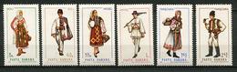 Roumanie ** N° 2440 à 2445 - Costumes Régionaux - - Unused Stamps