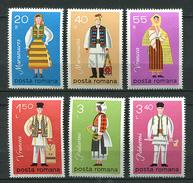 Roumanie ** N° 3197 à 3202 - Costumes Nationaux - - Unused Stamps
