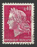 France, 40 C. 1969, Sc # 1231, Mi # 1650, Used - 1967-70 Marianne Of Cheffer