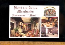 COUR CHEVERNY Loir Et Cher 41700 : L' Hotel ** Restaurant *** Des 3 Marchands Intérieur Extérieur - France