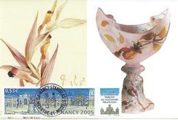 3785 - 78e CONGRES FFAP - NANCY EMILE GALLE - CENTENAIRE 1904-2004 - Cartes-Maximum