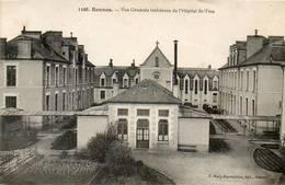 CPA - RENNES (35) - Aspect De L'Hôpital St-Yves Au Début Du Siècle - Rennes