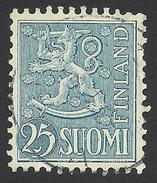 Finland, 25 M. 1954, Sc # 321, Used. - Finland