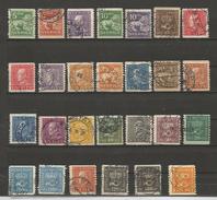 Série Années 1920 à 1924 - Suède