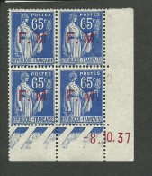 COINS DATES: **, FM N°8, 2 Tp Av Manque De Gomme, TB - 1930-1939