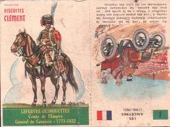 DECOUPIE BISCOTTES CLÉMENT 1962 - Découpis