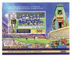 Armenien / Armenie / Armenia 2016, Intercontinental Football Cup Winners, Atletico Boca Juniors CABJ - MNH**