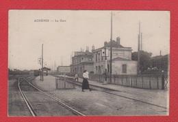 Achères  --  La Gare - Acheres