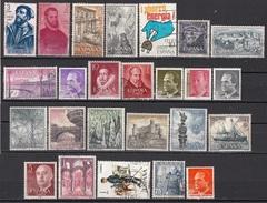 Lotto C58h Spagna Vecchi Moderni Piccola Collezione Di 25 Differenti Espana Spain - Collections