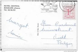 VUCHT ..-- BOUILLON ..-- Hôtel Central . 1987 Vers VUCHT ( Fam. CARDINAEL ) . Voir Verso . - Maasmechelen