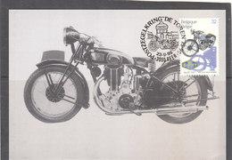 2618 Moto Ancienne Belge - Gillet 1937 - Maximum Cards