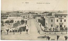 CPA - TUNISIE - SFAX - Boulevard De La Marine - Tunisia