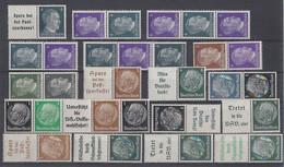 DR Lot 17 Zusammendrucke Postfrisch Ansehen !!!!!!!!!!!! - Briefmarken