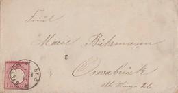 DR Brief EF Minr.19 K1 Stettin 20.1.73 - Briefe U. Dokumente