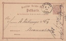 DR Ganzsache K1 Eisleben 4.4.74 - Deutschland