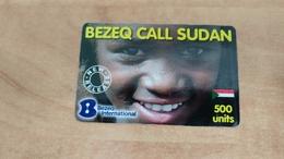 Israel-bezeq Call Sudan-(2)-(30.11.11)-(500units)-bezeq International-used Card Very Good - Sudan