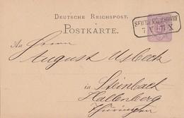 DR Ganzsache Nachv. Sachsenstempel Seifhennersdorf 7.5.77 - Deutschland