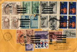 Lettre De Atka (Aleoutian Islands) Alaska, Adressée Andorra, Avec Timbre à Date Arrivée - Briefe U. Dokumente