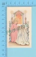 Religion, Enfant Jésus Féminisé Donnant La Communion  - Image Pieuse, Holy Card, Santini - 2 Scans - Images Religieuses