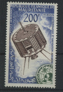 1963 Mauritania, Giornata Metereologica Mondiale Satellite Tiros Posta Aerea , Serie Completa Nuova (**) - Mauritania (1960-...)