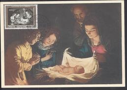 "VATICAN - Carte Maximum N° 1119 "" L'Adorazione "" 2 Scans - TB - - Maximumkaarten"