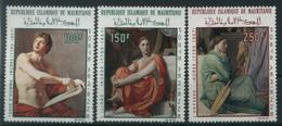1968 Mauritania, Quadri Dominique Ingres Posta Aerea, Serie Completa Nuova (**) - Mauritania (1960-...)